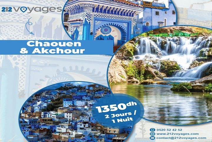 Hiking in Chaouen & Akchour - 2 Days